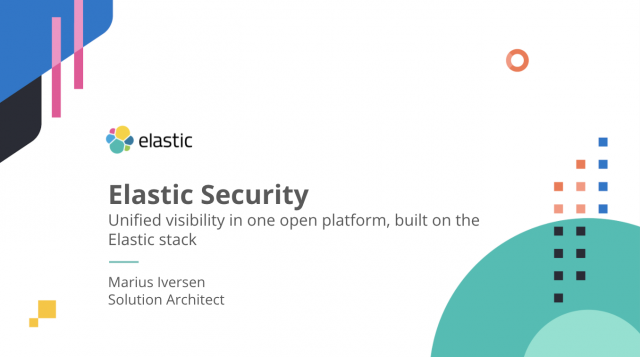 Best practices for security monitoring and threat hunting with Elastic Security