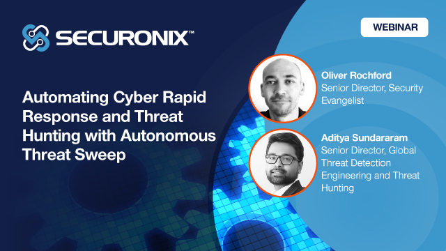 Automating Cyber Rapid Response and Threat Hunting with Autonomous Threat Sweep
