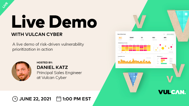 A Live Demo of Risk-Driven Vulnerability Prioritization in Action