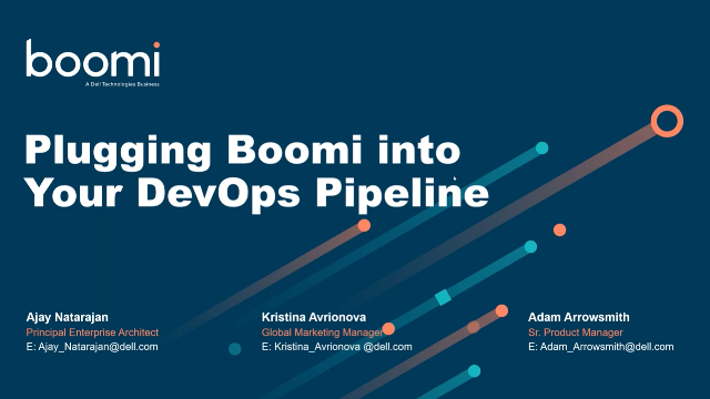 Plugging Boomi into Your DevOps Pipelines to Ensure Project Success