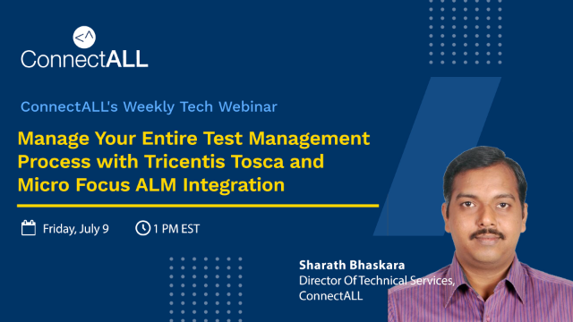 Manage Your Entire Test Management Process with Tricentis Tosca & MicroFocus ALM