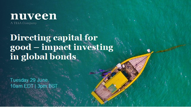 Directing capital for good – impact investing in global bonds