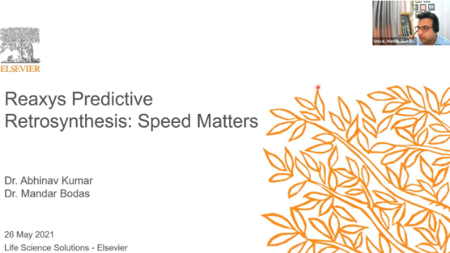 Reaxys Predictive Retrosynthesis- Speed Matters