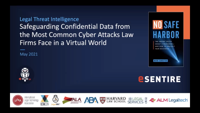 Safeguarding Confidential Data from the Most Common Cyber Attacks Law Firms Face