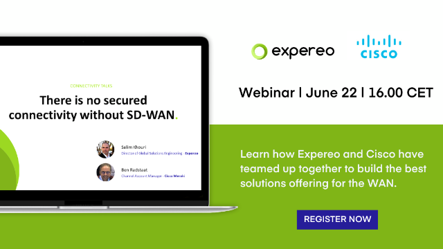 There is no secured connectivity without SD-WAN.