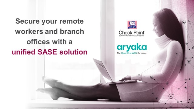 Securing remote workers and branch offices with a unified SASE solution