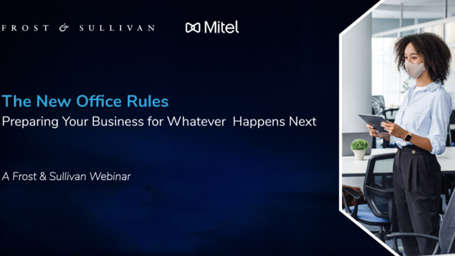 The New Office Rules - Preparing Your Business For What Happens Next