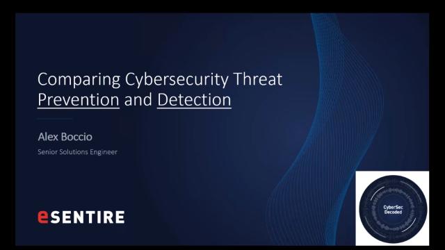 Cybersec Decoded: Comparing Cybersecurity Threat Prevention and Detection