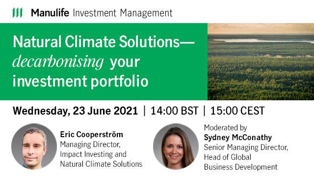 Natural Climate Solutions – decarbonising your investment portfolio