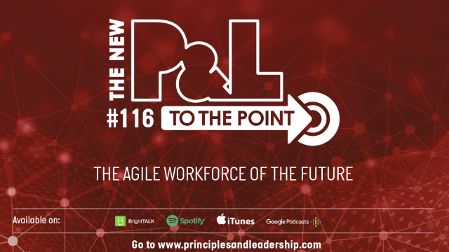 The New P&L TO THE POINT on The Agile Workforce of the Future