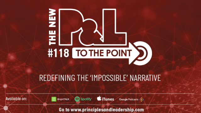 The New P&L TO THE POINT on Redefining the 'Impossible' Narrative