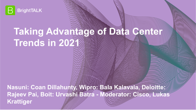 Taking Advantage of Data Center Trends in 2021
