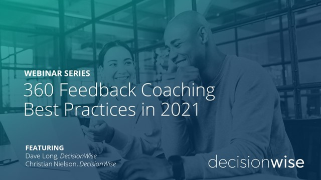 360 Feedback Coaching Best Practices in 2021