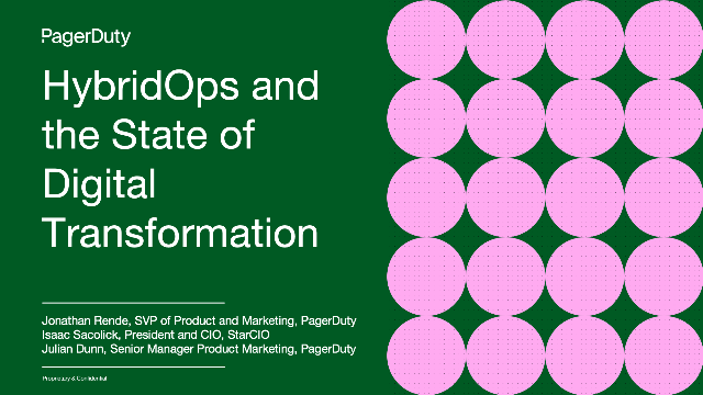 HybridOps and the State of Digital Transformation