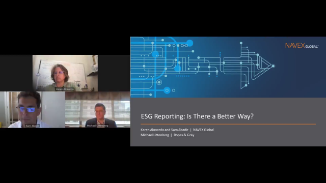 ESG Reporting: Is There a Better Way?