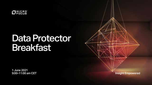 Data Protector Breakfast in Czech Republic and Slovakia