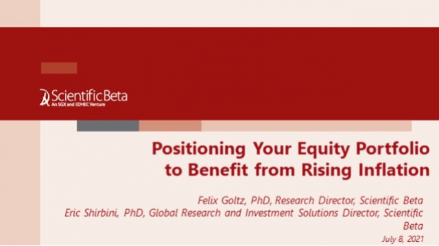 Positioning Your Equity Portfolio to Benefit from Rising Inflation
