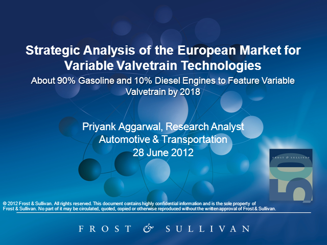 Strategic Analysis of the European Market for Variable Valvetrain Technologies