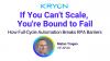 How Full-Cycle Automation Breaks RPA Barriers
