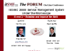 itSMF SIG: ISO/IEC 20000 SMS Under the Microscope: Establish & Improve the SMS