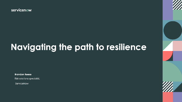 Navigating the path to resilience