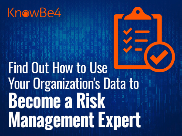 Find Out How to Use Your Organization's Data to Become a Risk Management Expert