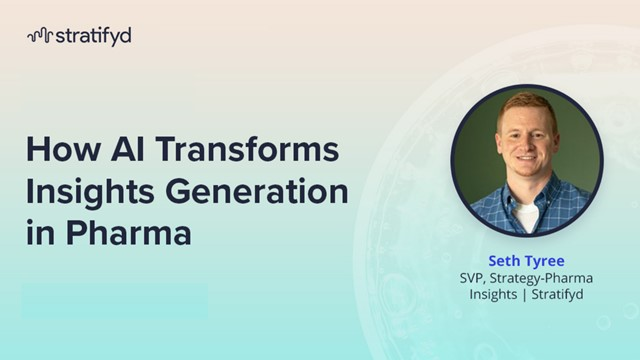 How AI Is Transforming Insights Generation in Pharma: Part 1