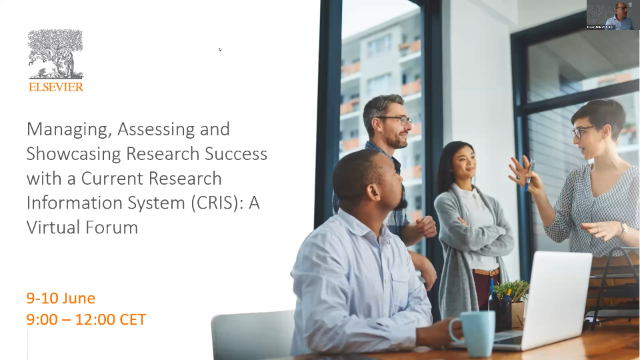 Managing, Assessing & Showcasing Research Success with CRIS – Day 1