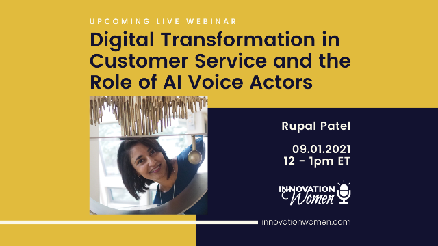 Digital Transformation in Customer Service and the Role of AI Voice Actors