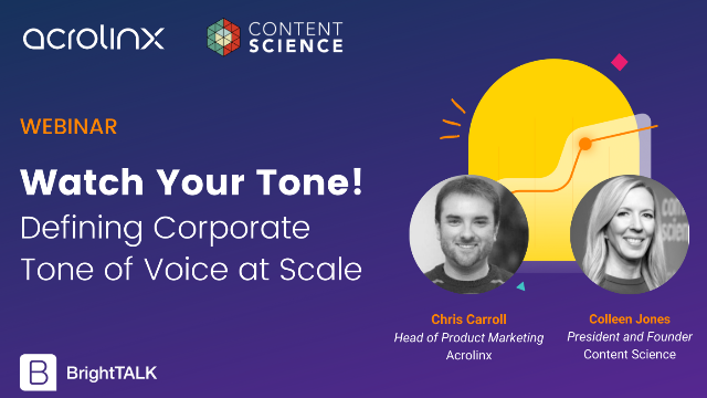 Watch Your Tone! Defining Corporate Tone of Voice at Scale