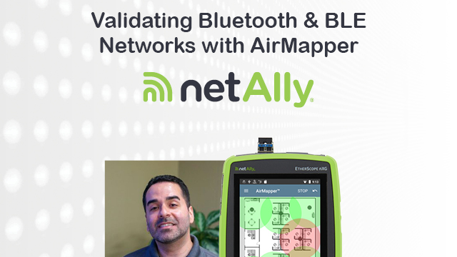 Validating Bluetooth and BLE Networks with AirMapper