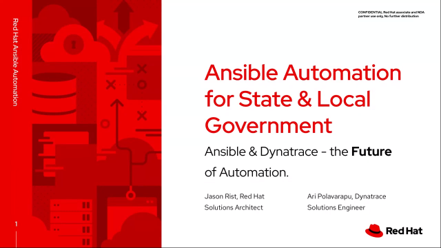 Ansible Automation Webinar for State and Local Government
