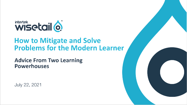 How to Solve Problems for the Modern Learner —Advice From 2 Learning Powerhouses