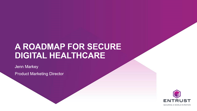 A roadmap for secure digital healthcare