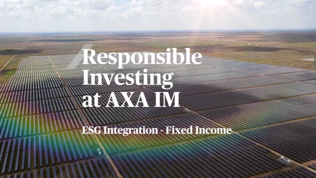 ESG Integration within Fixed Income at AXA IM