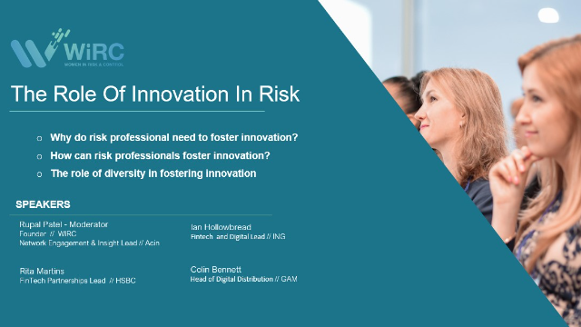 The Role of Innovation in Risk
