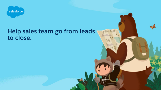 Help sales team go from leads to close