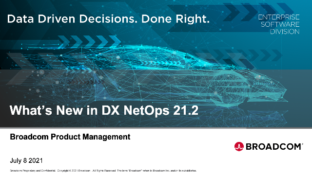 What's New in DX NetOps 21.2