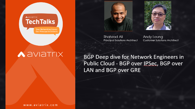Deep dive for Network Engineers into BGP in Public Cloud with BGP