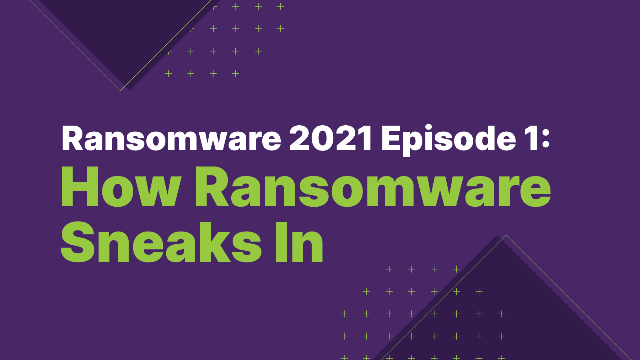 Ransomware 2021 Episode 1: How Ransomware Sneaks In