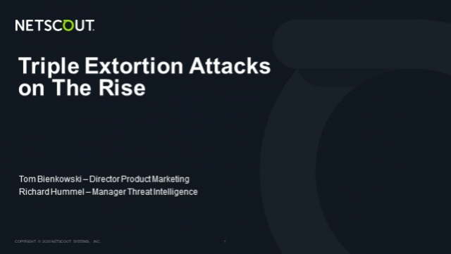 Triple Extortion Attacks on the Rise