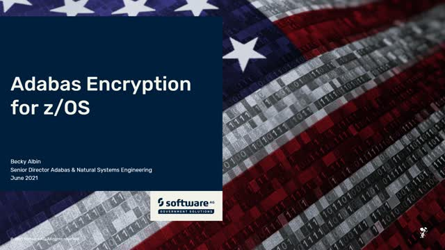 New Adabas Security Options for z/OS: Encryption