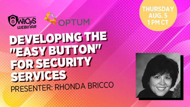 """Developing the """"Easy Button"""" for Security Services"""