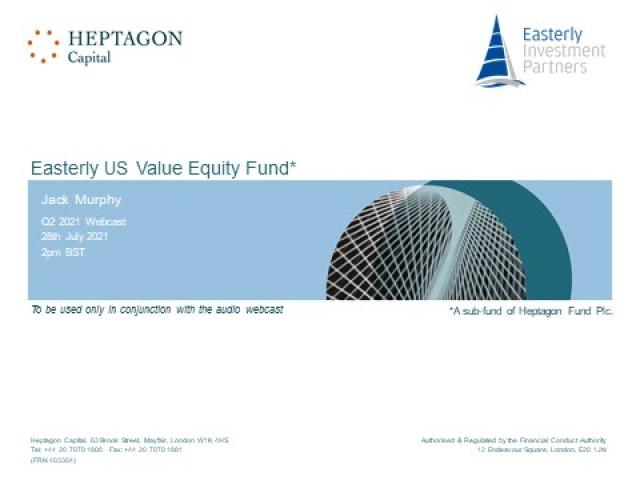 Easterly US Equity Fund Q2 2021 Webcast