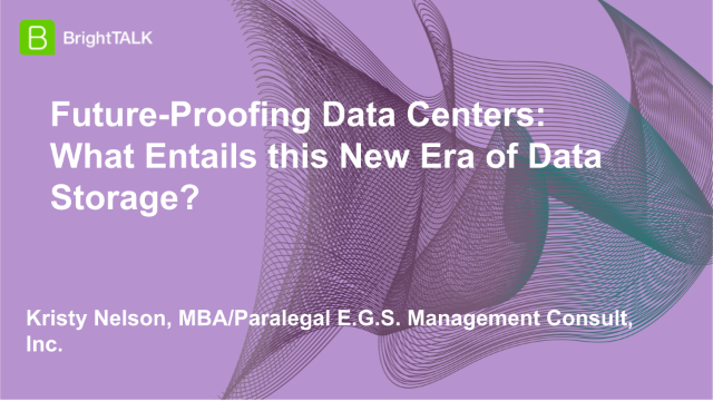 Future-Proofing Data Centers: What Entails this New Era of Data Storage?