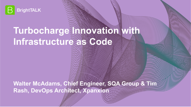 Turbocharge Innovation with Infrastructure as Code