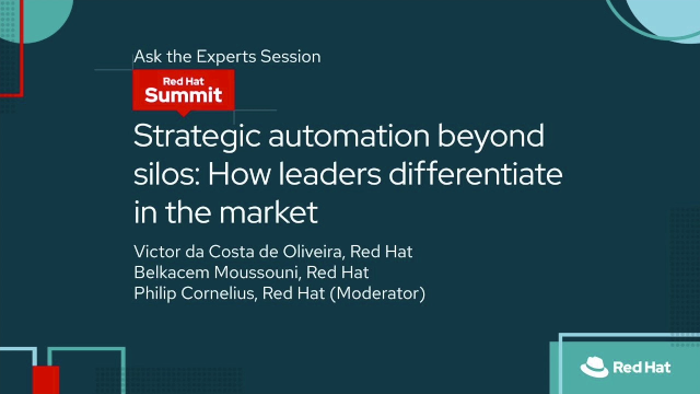 Strategic automation beyond silos: How leaders differentiate in the market