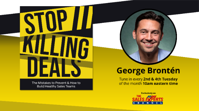 Stop Killing Deals - Episode 13 - Connection with Colleen Stanley
