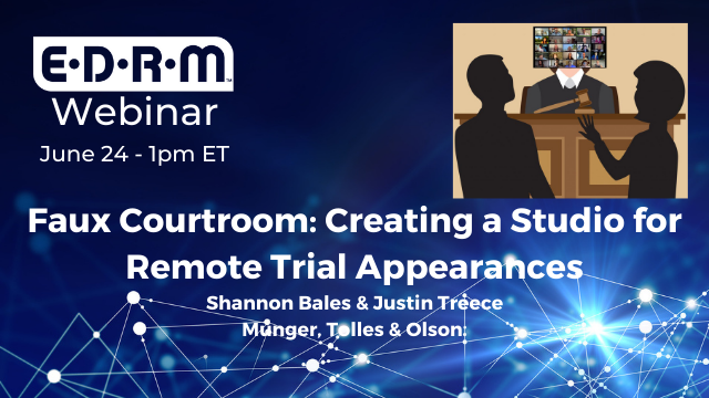 Faux Courtroom: Creating a Studio for Remote Trial Appearances