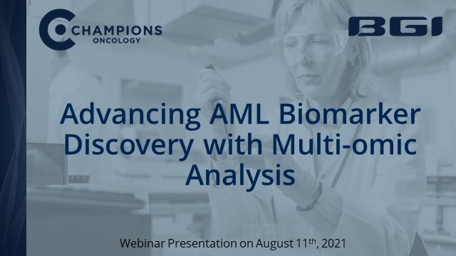 Advancing AML Biomarker Discovery with Multi-omic Analysis